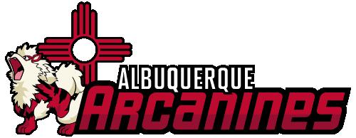 Albuquerque arcanines full logo