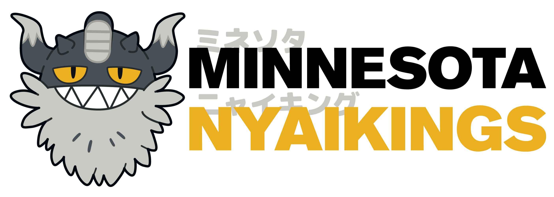 Minnesota nyaikings full with light background